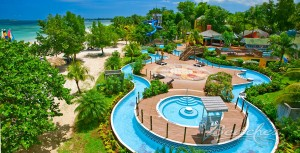 Beaches Negril lazy river waterpark