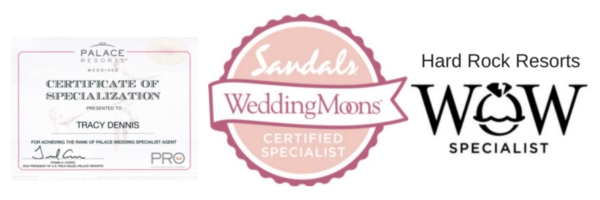 Tracy Dennis wedding specialist certifications